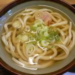 うどん 太三郎 - かけうどん(500円)