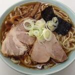 秀来軒 - 醤油ラーメン 煮豆腐 2012年12月