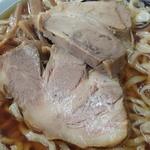 秀来軒 - チャーシュー 醤油ラーメン 煮豆腐 2012年12月
