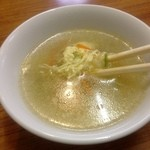 味芳斎 - スープ