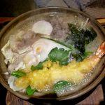 麺処 しまじ   - 鍋焼きうどん