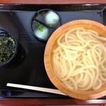 16497914 - 釜あげうどん・並(280円)