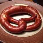 ヴルストハウゼ 川上 - 絶品プリッツェル! こんなにウマいプリッツェルが日本で食べられるなんて!