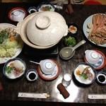 民宿旅館 川戸屋 - 料理写真:かにすきコース3人前