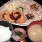 陶狸道 - 料理写真:日替わり定食600円☆