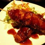 九州居酒屋 克 - 黒豚串カツ