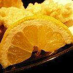 九州居酒屋 克 - 鶏天 しなびてるレモンが気になった・・・