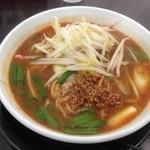 ラーメンふじ井 - 赤坦々麺750円