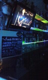 ムーンカフェ - 店内とfood menu