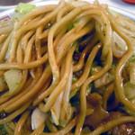 ぎょうざのキスミ - 「焼きそば」ストレートに近い太麺