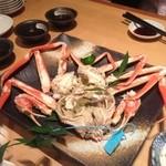 近江屋 伝兵衛 - 2012年11月の越前蟹!!