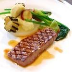 船坂 - ランチAの肉料理