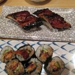 富梅 - 2012.12.24 絶品鰻にぎり、うなきゅう