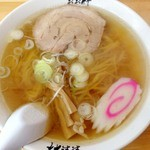 青竹手打ちラーメン おお竹 - 料理写真:ラーメン 2012年12月