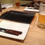 バーベキューファクトリー - 飲み放題はビールでなく発泡酒。