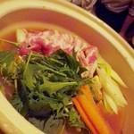 16509486 - ホエー豚の生姜味噌鍋