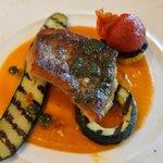 Oh! la Vache - 五島列島からの天然魚(クロムツ) 黄色トマトソース
