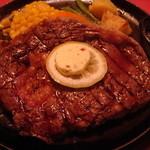 ステーキハウスニューテキサス - リブロースステーキ(250g)