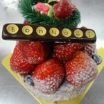 レ・グーテ - いちごのタルト クリスマスケーキ