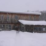 リーズカフェ - 凄い雪です(2012年12月)