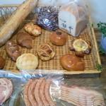 銀亭 - 商品をまとめてみました。パンにハム・ベーコンでモーニングなんかいかがでしょうか。