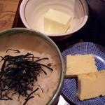 長徳 - ランチ膳:御飯/玉子焼/プリン
