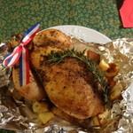 ル ボン マルシェ - 鶏の丸焼き