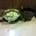 竜馬 - Freeの辛子高菜とネギ