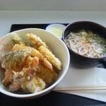 16515870 - 加賀野菜天丼セット