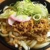 北九州駅弁当 ぷらっとぴっと 4号売店 - 料理写真:かしわうどん