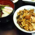大和田 - 一膳目は、軽く混ぜてそのまま。
