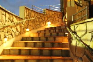 ルージュトマト - 2F店内への階段