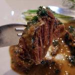 1652071 - Secondo Piatto~牛肉の白ワイン煮