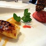 1652072 - Dorci~クリームブリュレ、苺のジェラート