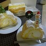 西洋菓子 きるん - 料理写真:(注)クリスマス用ピックは、自分で調達したものです。