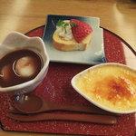 胡蝶 - デザート・コーヒー付き