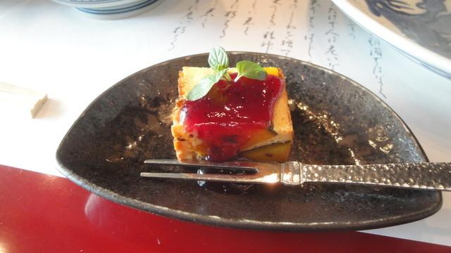 貴舟 - 2012.12.25)かぼちゃケーキ