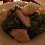 16522704 - 水蛸と山葵菜のサラダ  700円