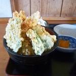 彦一 - 料理写真:天丼