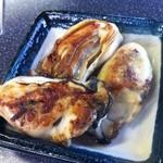 16523709 - サービスの牡蠣鉄板焼き