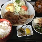 はんべい - 料理写真:しょうが焼き定食(オリジナルタレ)750円!(第一回投稿分④)