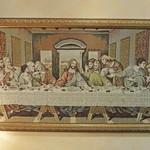 ダノイ高輪 - 廊下にキリストの最後の晩餐