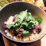 Umui - パクチー納豆と玄米ごはん