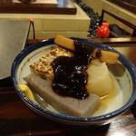 五郎作 - 甘辛い味噌のかかったおでん