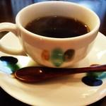 串かつ おざき - 食後のコーヒー( ^^) _旦~~