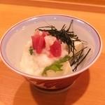 なるだん - とろろタタキ豆腐 680円
