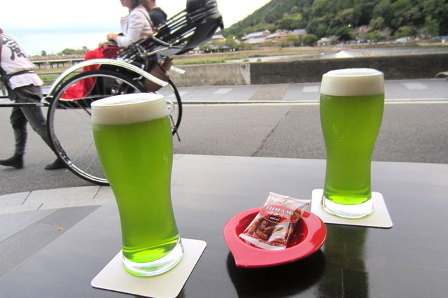 ソブレン - 抹茶ビール¥500