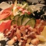 四季の味 はやしだ - 明石蛸のサラダ