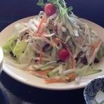 とんかつ 金豚 - 野菜たっぷり豚カツ定食…980円