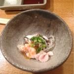 串政 - 河豚の白子とてっぴポン酢